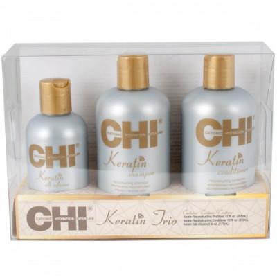 Набор для волос CHI KERATIN TRIO SET: фото