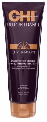 Маска Протеиновая Глубокий Уход CHI Deep Brilliance Olive & Monoi Optimum Protein Masque 237 мл: фото