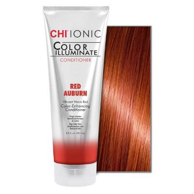 Кондиционер оттеночный CHI Ionic Color Illuminate Conditioner Red Auburn Красно-рыжий 251 мл: фото