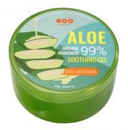 Успокаивающий гель после загара с экстрактом алоэ вера 99% DEARBOO Aloe After-Sun Soothing Gel 300 мл: фото