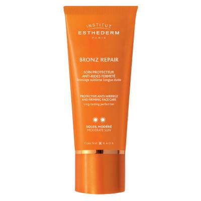 Крем для лица, шеи и декольте при умеренном солнце Institut Esthederm Sun Care Bronz Repair 50мл: фото