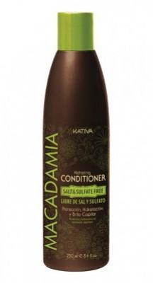 Увлажняющий кондиционер для нормальных и поврежденных волос Kativa MACADAMIA 250мл: фото