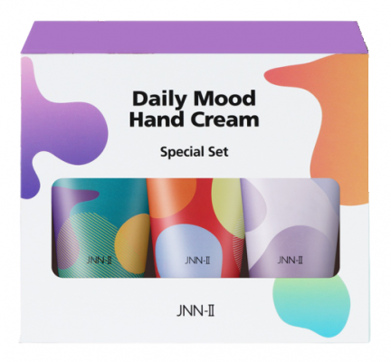 Набор кремов для рук JUNGNANI JNN-II DAILY MOOD HAND CREAM SPECIAL SET3 60г*3шт: фото
