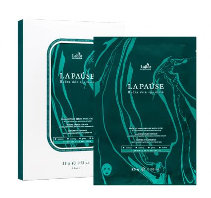 Маска для лица тканевая увлажняющая La'dor LA PAUSE Hydra skin spa mask 25мл: фото