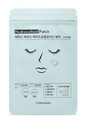 Патчи от акне ETUDE HOUSE Hydrocolloid Patch 5г*44 шт: фото