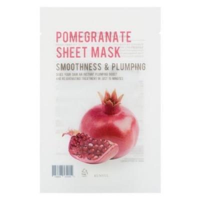Тканевая маска с экстрактом граната EUNYUL Purity Pomegranate Sheet Mask 22мл: фото