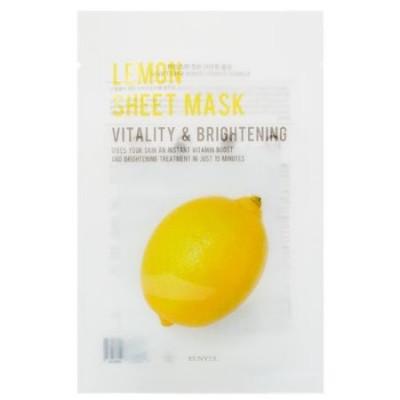 Тканевая маска с экстрактом лимона EUNYUL Purity Lemon Sheet Mask 22мл: фото
