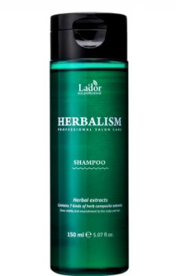 Успокаивающий шампунь против выпадения волос HERBALISM SHAMPOO 150мл: фото