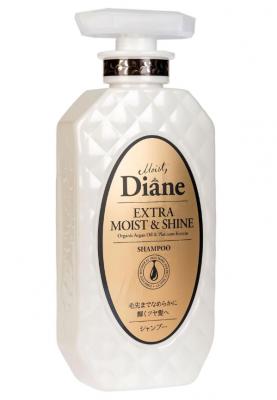 Шампунь кератиновый увлажнение Moist Diane Perfect beauty 450мл: фото