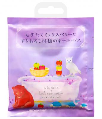 Соль для ванн расслабляющая с экстрактом яблока Charley Sommelier 40г: фото