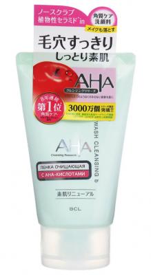 Пенка для лица очищающая с фруктовыми кислотами BCL AHA sensitive 120г: фото
