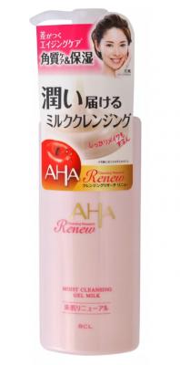 Гель-молочко для снятия макияжа очищающее и увлажняющее BCL Moist gel milk cleansing 135мл: фото