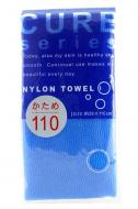 Мочалка для тела средней жесткости Ohe Cure nylon towel regular blue 34г: фото