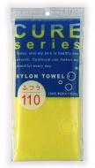 Мочалка для тела средней жесткости Ohe Cure nylon towel regular yellow 34г: фото