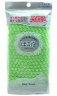 Мочалка средней жесткости Ohe Poko Awa Body Towel зеленая 30г: фото