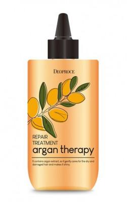 Бальзам для волос с маслом арганы DEOPROCE ARGAN THERAPY REPAIR TREATMENT 300мл: фото