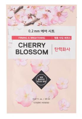 Маска с экстрактом цветов вишни ETUDE HOUSE 0.2 THERAPY AIR MASK Cherry Blossom 20мл: фото