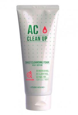 Ежедневная пенка для проблемной кожи ETUDE HOUSE AC Clean Up Daily Acne Cleansing Foam 150мл: фото