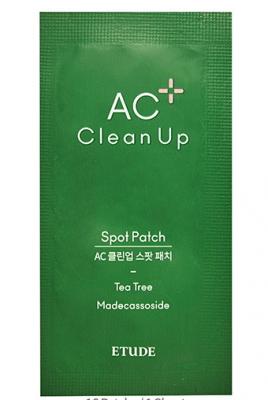 Точечные патчи для проблемной кожи ETUDE HOUSE AC Clean Up Spot Patch 12шт: фото