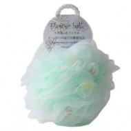 Мочалка для тела в форме шара Yokozuna Flower ball зеленая: фото