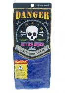 Мочалка массажная ультражесткая Yokozuna Death body towel синяя 29*100см: фото