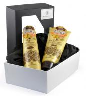 Набор подарочный для волос Momotani ВОССТАНОВЛЕНИЕ И БЛЕСК: Шампунь для волос с маслом арганы 290 мл + Бальзам для волос с маслом арганы 200г: фото