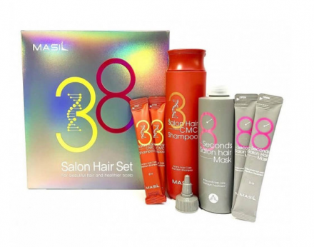 Набор для волос уходовый Masil 38 salon hair set: фото
